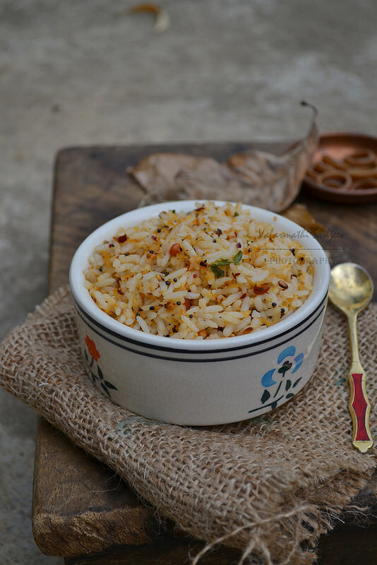 Garlic Rice / Poondu Saadam