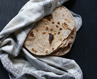 How to make Simple Flour tortillas 4 ingredients