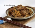 Braised pork ribs with beancurd sheet  ~ 腐竹排骨
