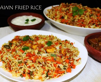 RICE RECIPES - PRAWN FRIED RICE RECIPE