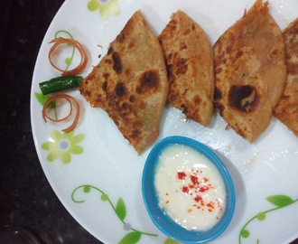Carrot Paratha Recipe| Stuffed Carrot Paratha step by step recipe
