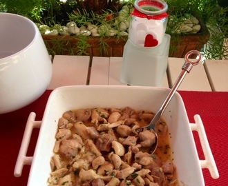 Pollo al ajillo ( Thermomix)