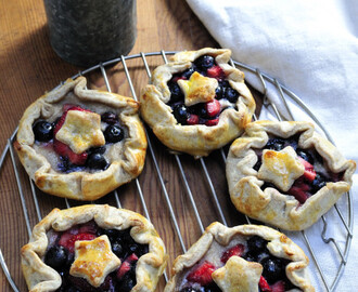 Rustic 4th of July Galettes