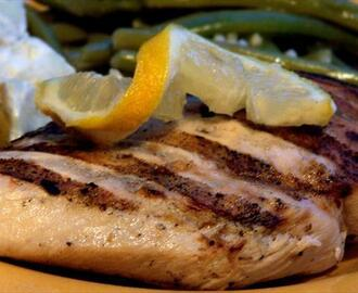 My Favorite Grilled Lemon Chicken