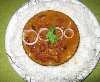 Rajma Masala[Indian Style Kidney Beans Curry]