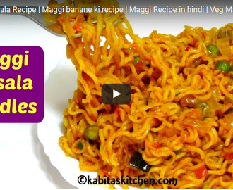 Maggi Masala Recipe Video