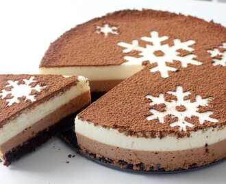 Chocolate Snowflake Mousse Cake ~ Recipe