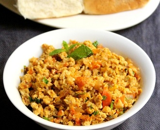 Anda bhurji recipe | spicy egg bhurji recipe