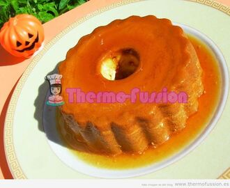 FLAN DE CALABAZA FUSSIONCOOK TOUCH ADVANCE Y THERMOMIX TM31