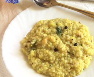 Kodo Millet Pongal | Millet Recipes