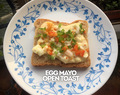 Breakfast Challenge Day 07, Egg Mayo Open Toast…..and we are done!