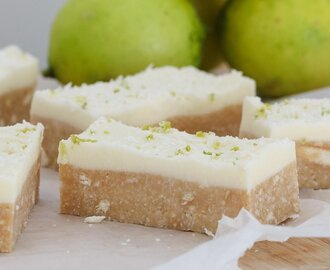 Easy Lime & Coconut Slice | No-Bake Recipe