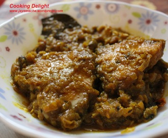 Rui Macher Kalia (Rohu fish in rich gravy)