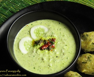 Southekayi Hasi Majjige Huli – Cucumber in Spicy Yogurt – Guest Post by Roopa Belur