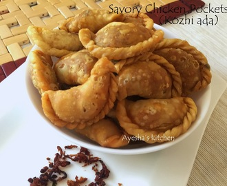MALABAR KOZHI ADA / CHICKEN HOT POCKETS / SAVORY MEAT POCKETS