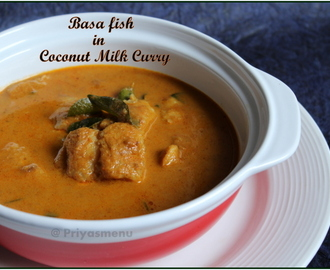 Basa Fish in Coconut Milk Curry