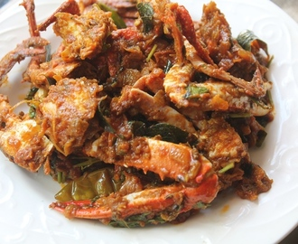 Crab Masala Recipe - Nandu Varuval Recipe