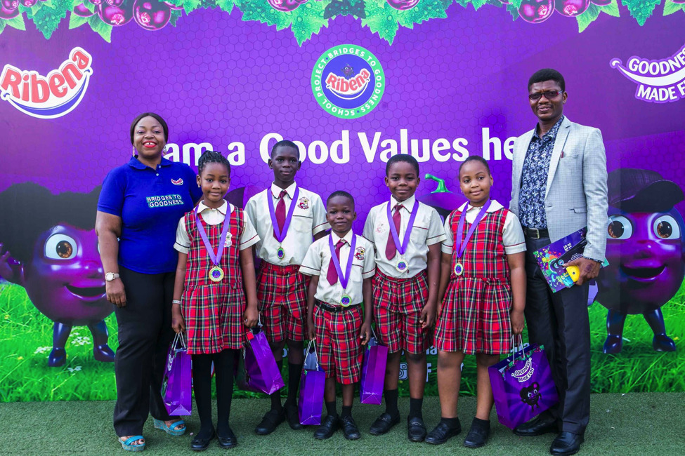 RIBENA AWARDS 750 CHILDREN FOR EXEMPLARY CHARACTER AND GOOD  VALUES