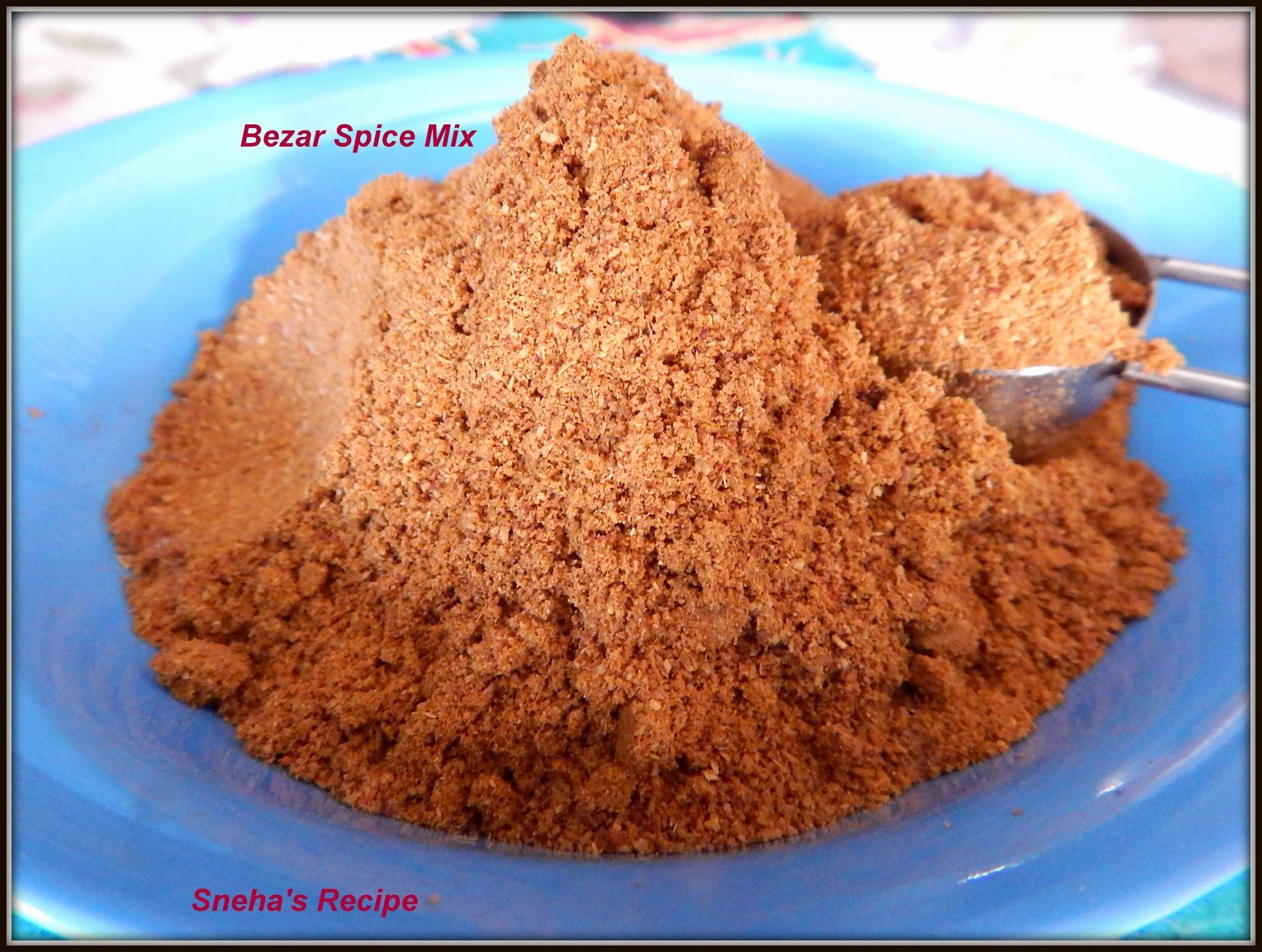 Bezar Spice Mix / Bezar  Masala - How to Make this Arabic Spice at Home