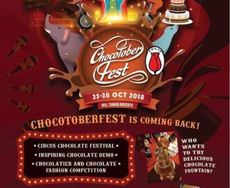 Chocotoberfest 2018  25-28 October 2018