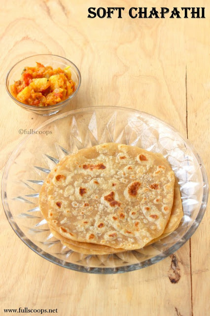 How to make a soft Chapathi