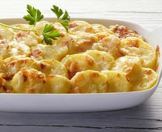 Creamy Scalloped Potatoes With Cheese