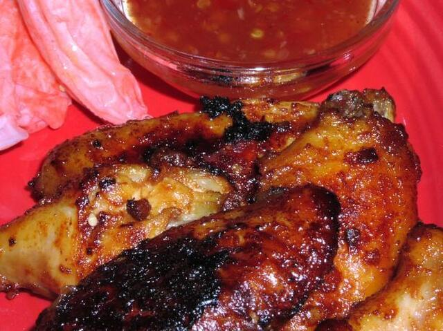 Maggi Baked Chicken Wings