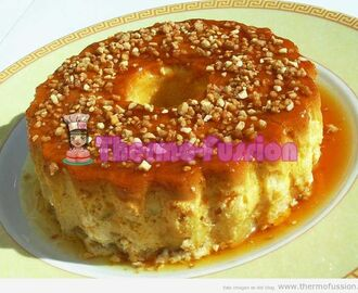 FLAN DE MANZANA THERMOMIX Y FUSSIONCOOK TOUCH ADVANCE