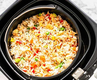 Air Fryer Fried Rice