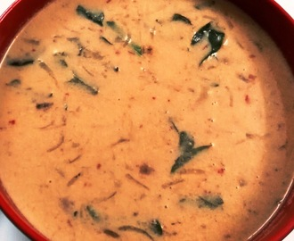 Coconut Chutney with Sautéed Onions