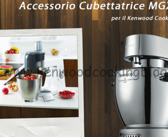 Video accessori Cubettatrice MGX400 Kenwood Cooking Chef