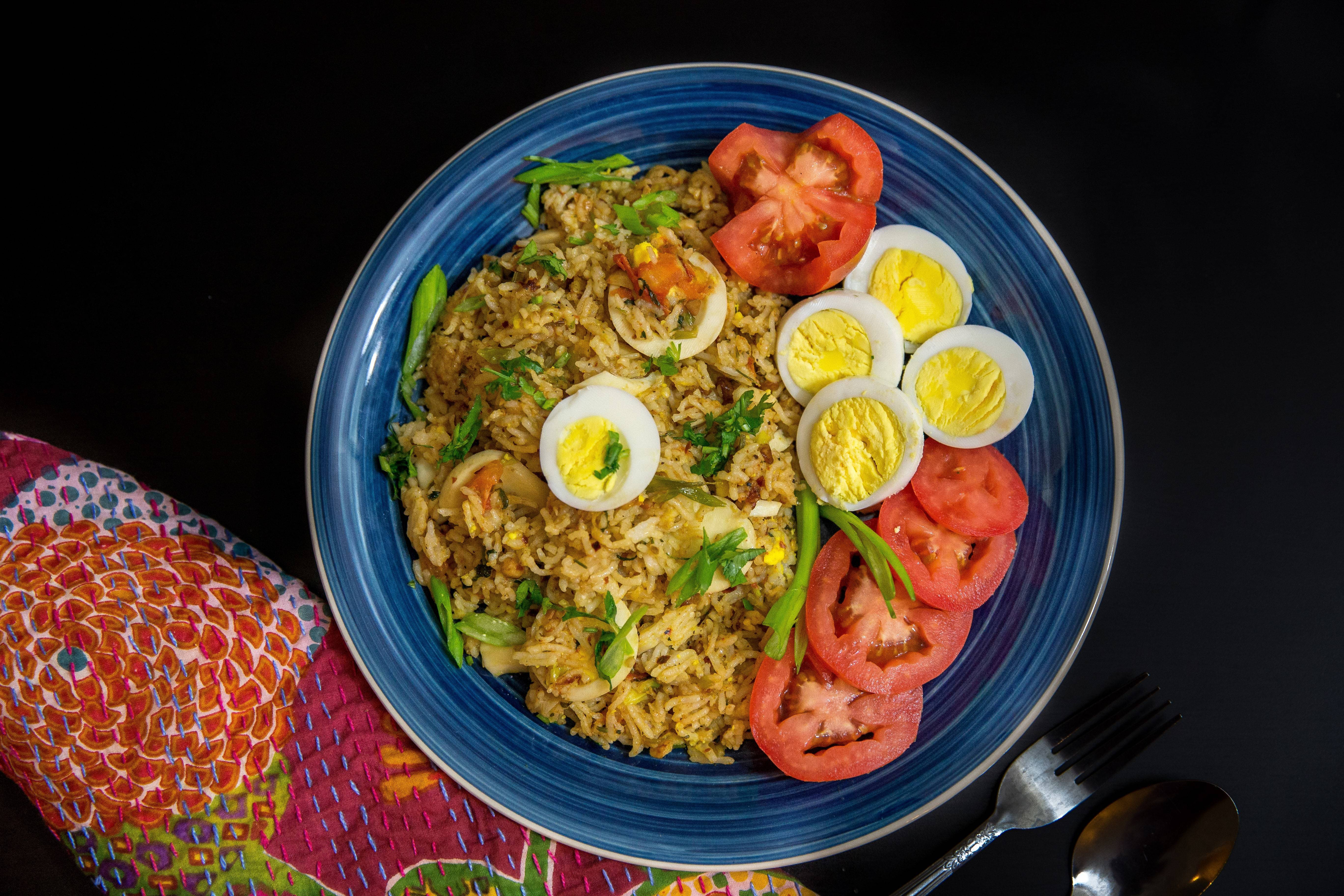 Indian Egg Rice Recipe