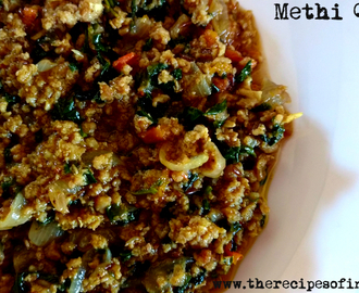 Methi Qeema Recipe | How to Make Minced Meat with Fenugreek Leaves