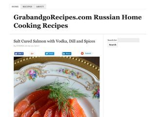 Russian home cooking recipes