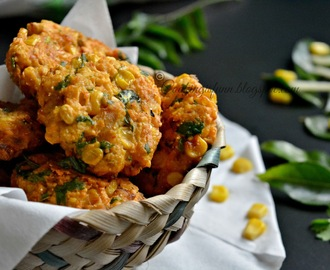 Andhra Style Corn Vada