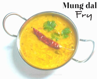 Mung Dal fry recipe|Dal fry restaurant style
