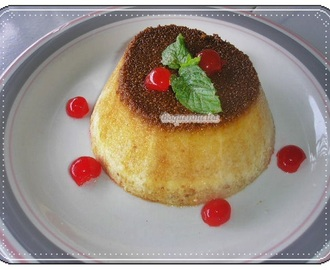 PUDING DE PAN THERMOMIX