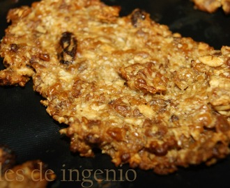 Galletas de avena, frutos secos y/o chocolate