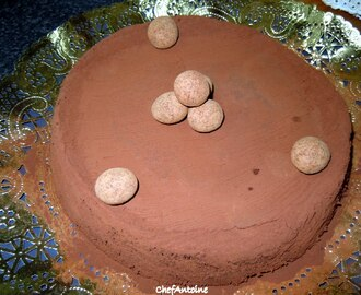 MOUSSE DE CHOCOLATE AL HORNO