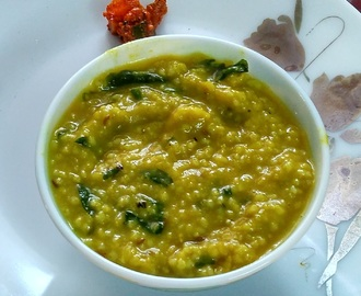 Kodo Millet and Pursalane Kichidi, Healthy One Pot Meal