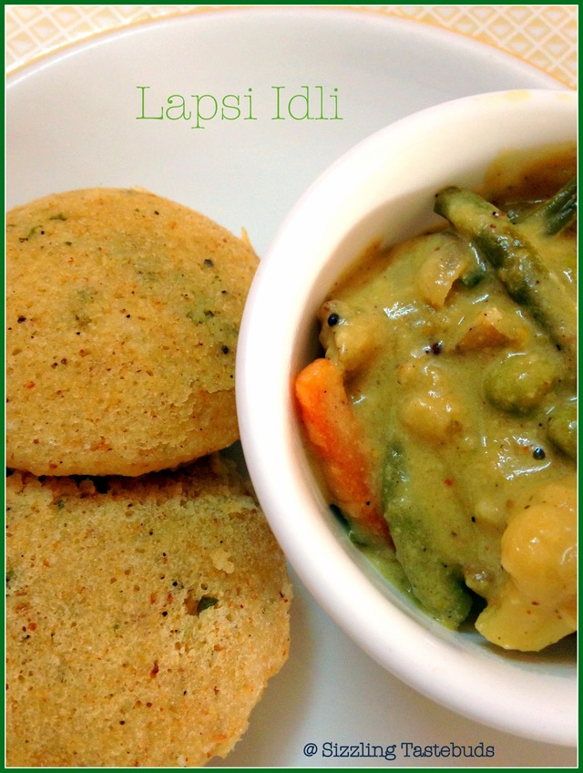 Lapsi Idli | Broken wheat Idli - 2  | Diabetic Recipes | Godhuma Rava Idli
