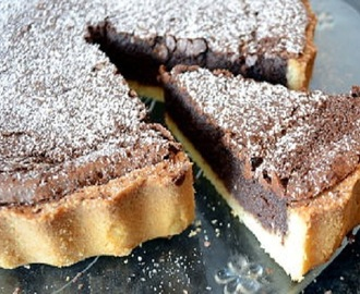 Tarte de Chocolate Preto