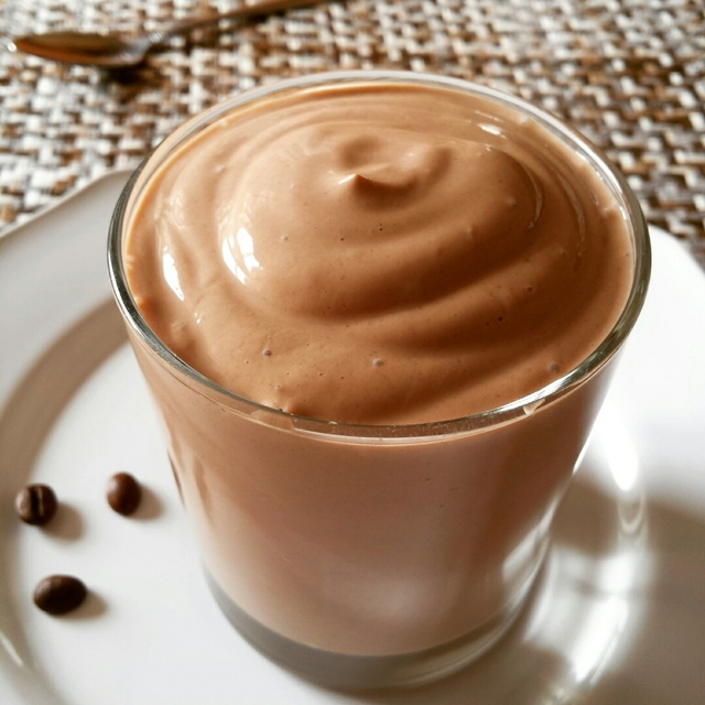 Mousse de café light