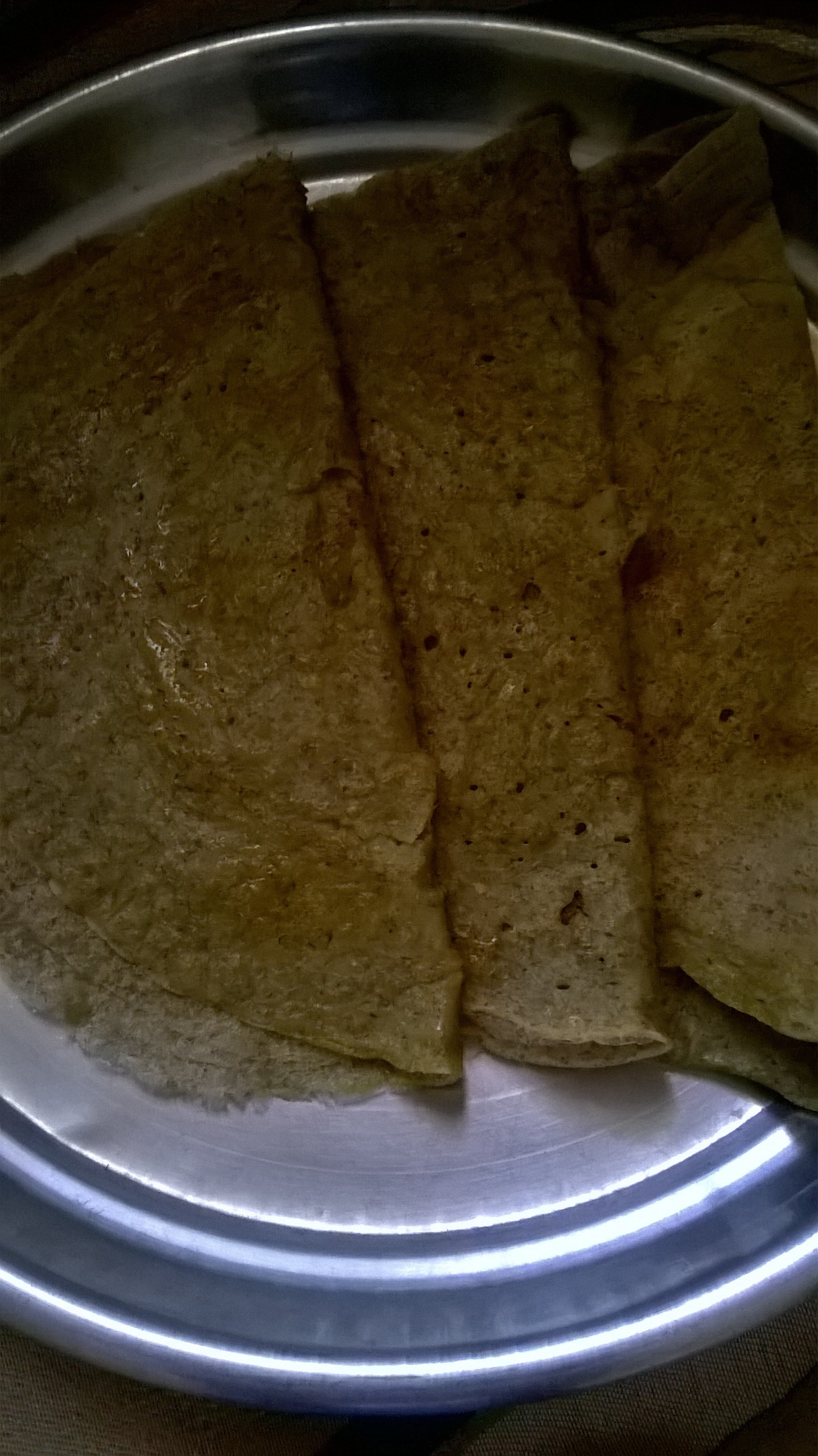 Green Moong Dal & Oats Chila