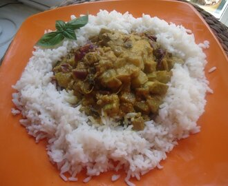Curry vegetariano