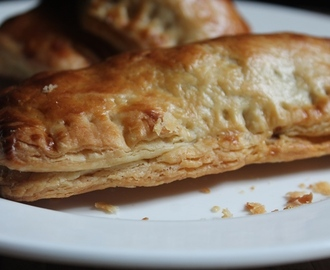 15 Mins Puff Pastry Sheets Recipe (without butter)
