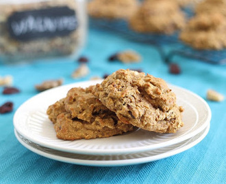 Almond Cherry Protein Cookies