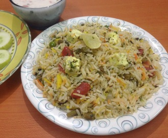 Vegetable Pulao -spicy rice