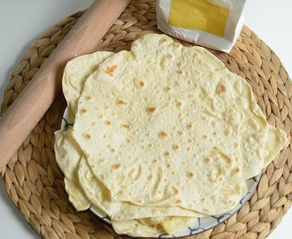 No crap Plat brood (flatbread) / wrap / roti / tortilla