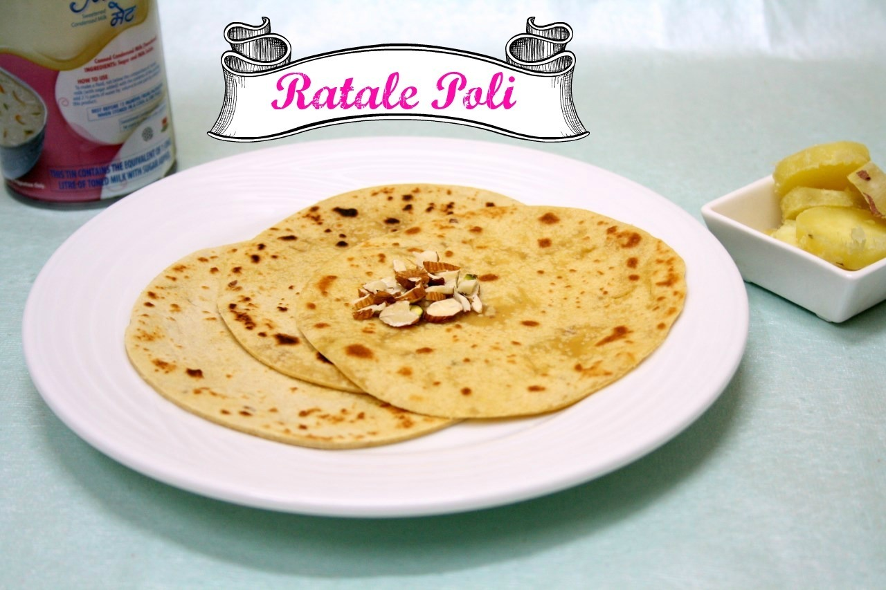 Ratale Poli | How to make Sweet Potato Roti
